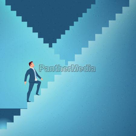 stairs humans human beings people folk