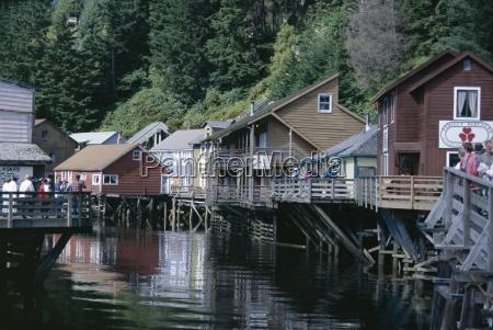 passeio viajar casas cidade americano madeira