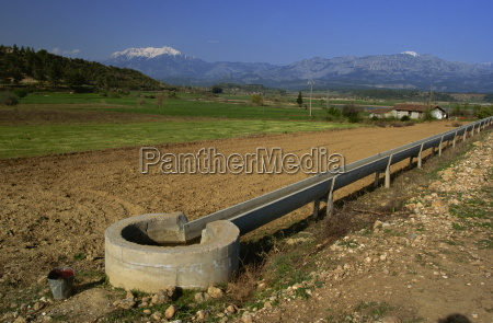 montanhas agricultura horizontalmente ao ar livre
